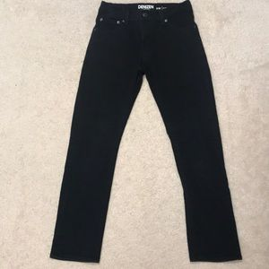 Boy's Black Skinny Fit Jeans